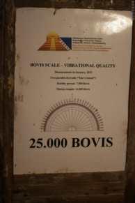 Pyramides de Bosnie - Ravna Tunnels - Mesure de l'énergie du site en Bovis