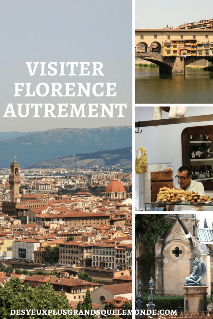 8 bons plans pour visiter la ville de Florence hors des sentiers battus. Infos et liens utiles dans l'article.
