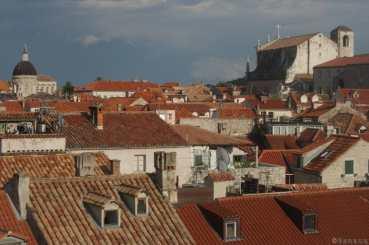 Photo d une vue de Dubrovnik