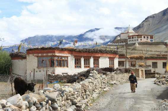 Photographie d'un monastère au Zanskar