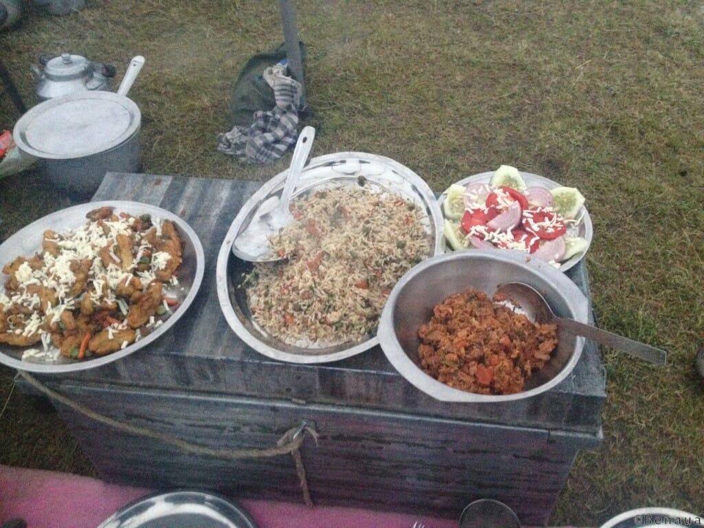 Trek au Zanskar en Himalaya - Cuisine locale - Benoit Richer