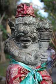 Superbe statue du Palais Royal Ubud