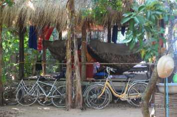Mekong Bamboo Hut - Vélo et Hamacs