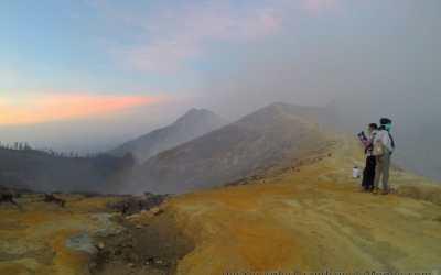 Trekking : ascension du volcan Ijen à Java en Indonésie