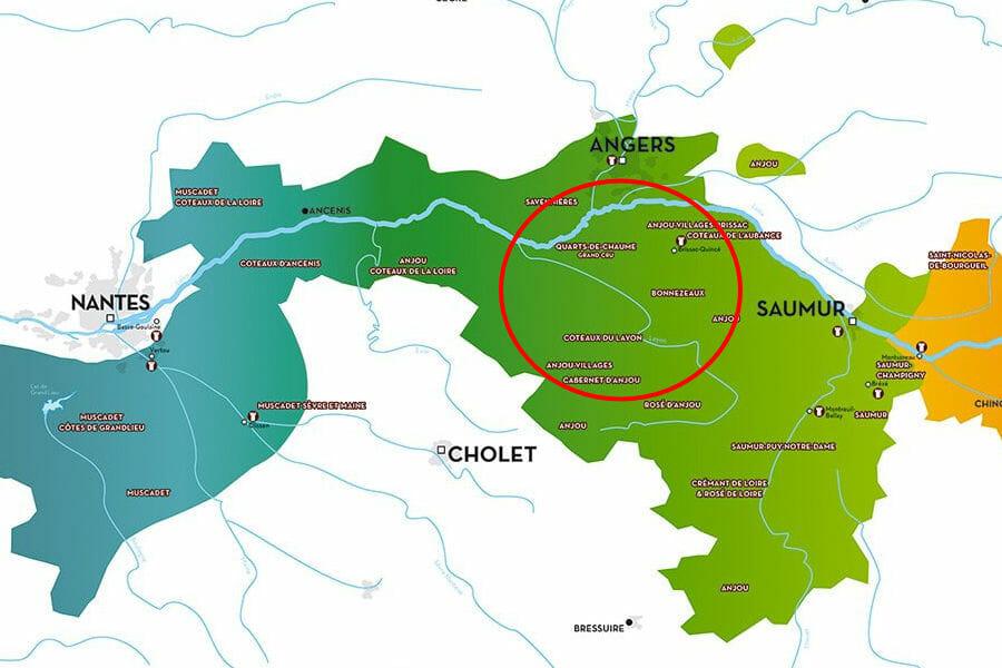 Un week-end en Anjou - Vins du Val de Loire