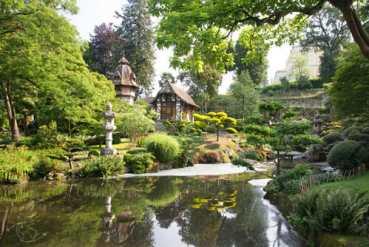 Jardin japonais - Parc Oriental de Maulévrier