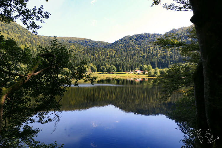 Tour de France - Lac de Retournemer - Vosges