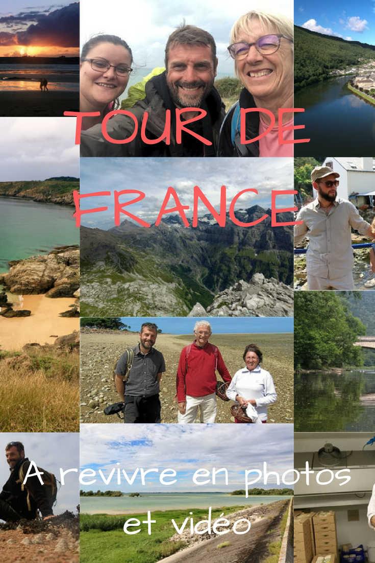Après un magnifique tour de France 2017, je dresse le bilan de mes aventures, le projet, les  rencontres en photos et vidéo.