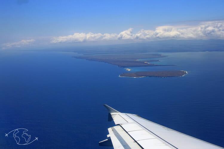 Arrivée aux Iles Galapagos