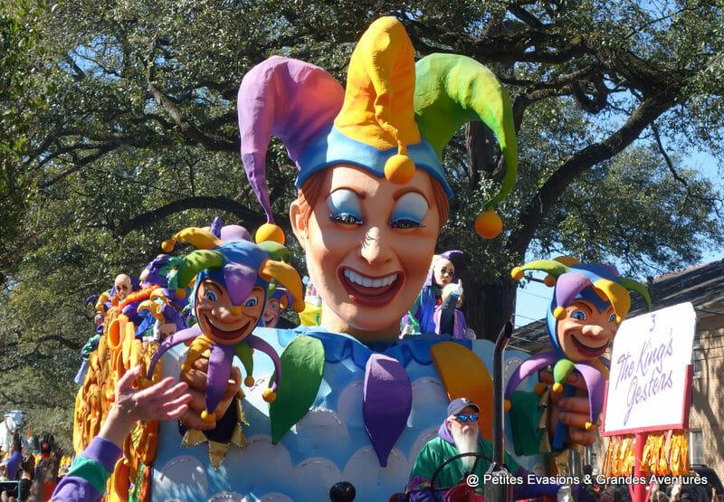 Carnaval de la Nouvelle-Orléans - Char