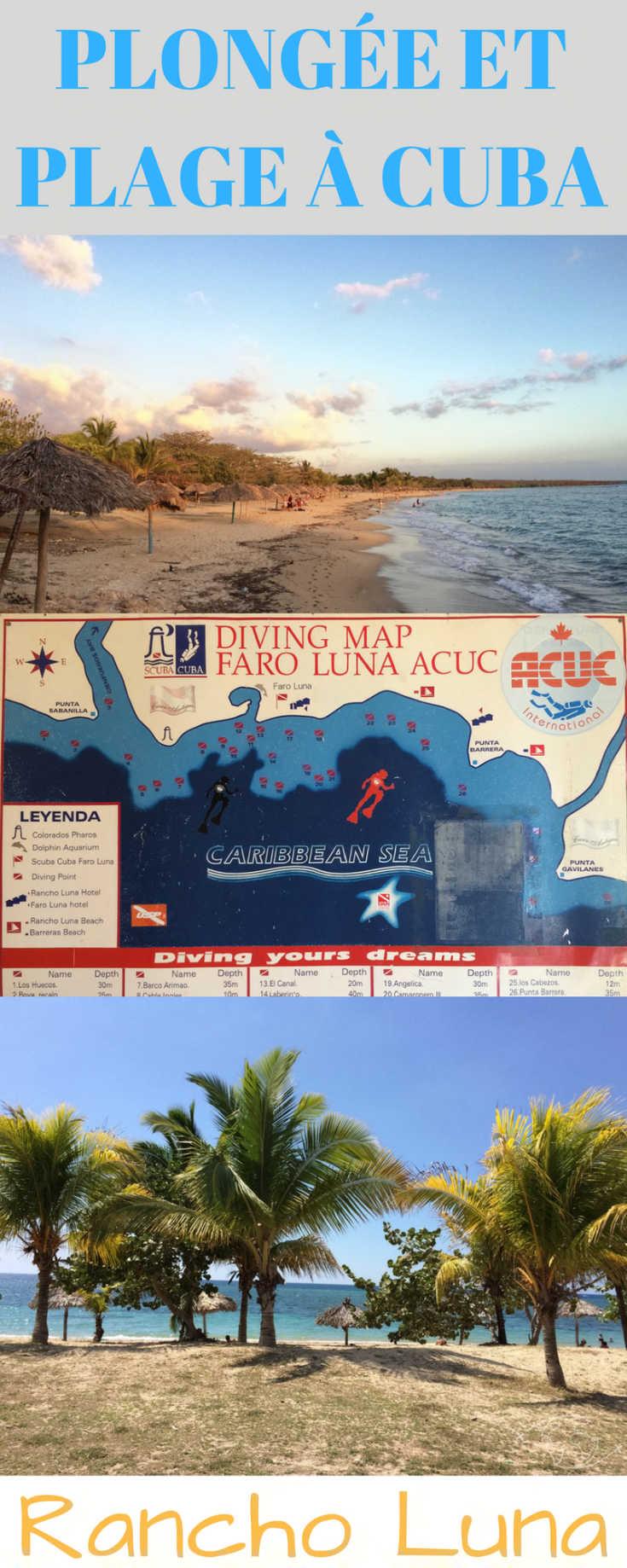 Toutes les infos et les bons plans pour profiter de la plage et de la plongée à Rancho Luna, alternative zen hors de la voie touristique à Cuba.