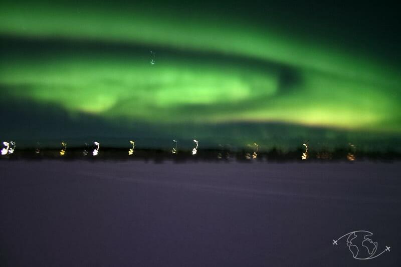 Grand Nord canadien - Aurores boréales