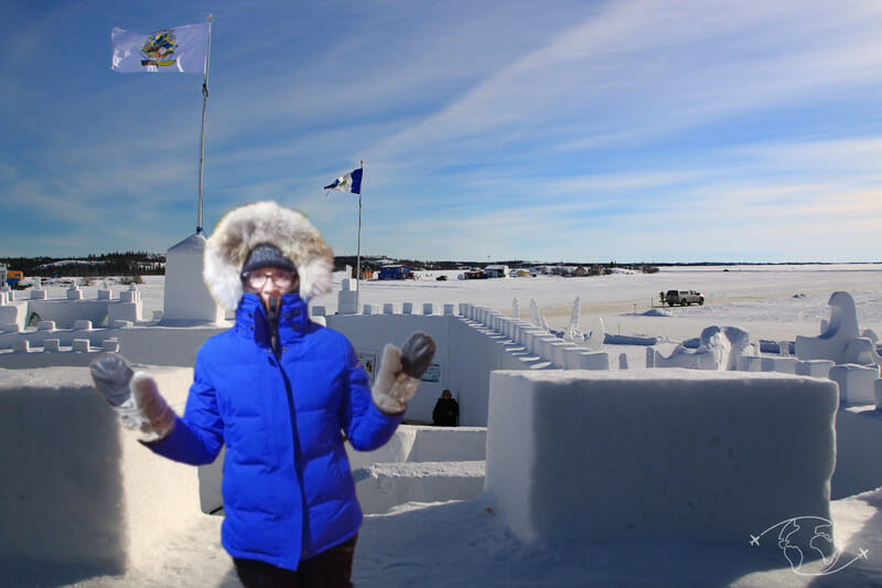 Aventure dans le Grand Nord - Chloé au Snowcastle - Vêtements grand nord
