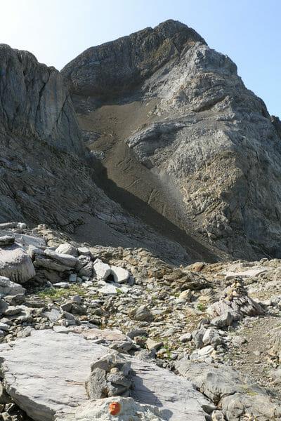 Tour des Dents Blanches - Montée du Pas au Taureau
