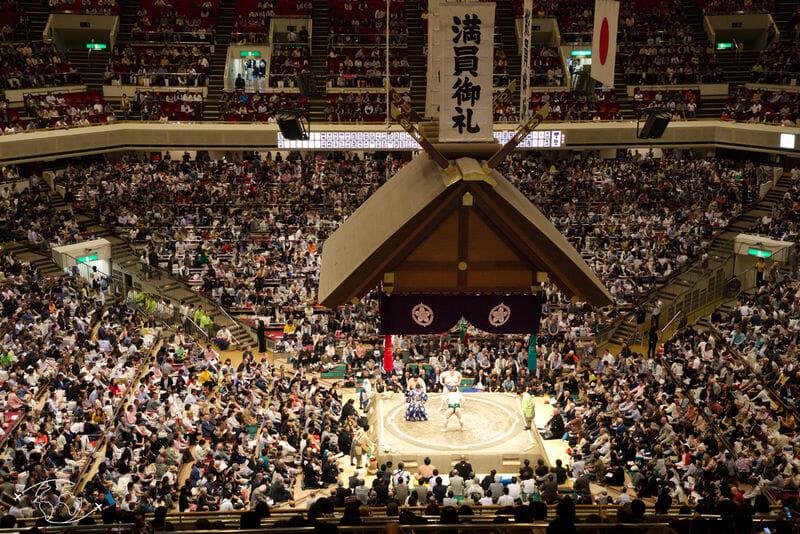 Arène des Sumo a Tokyo