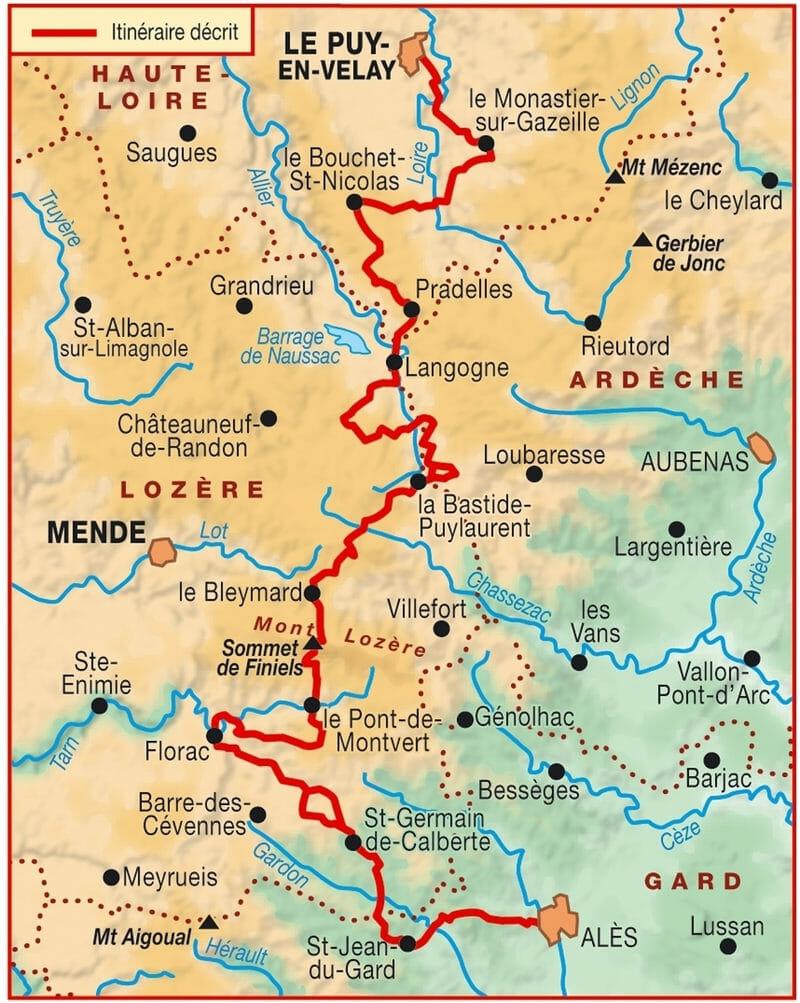 Carte_le-chemin-de-Stevenson-GR70