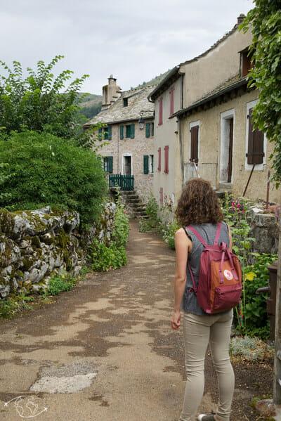 Chemin de Stevenson - Dans les rues de Pont de Montvert