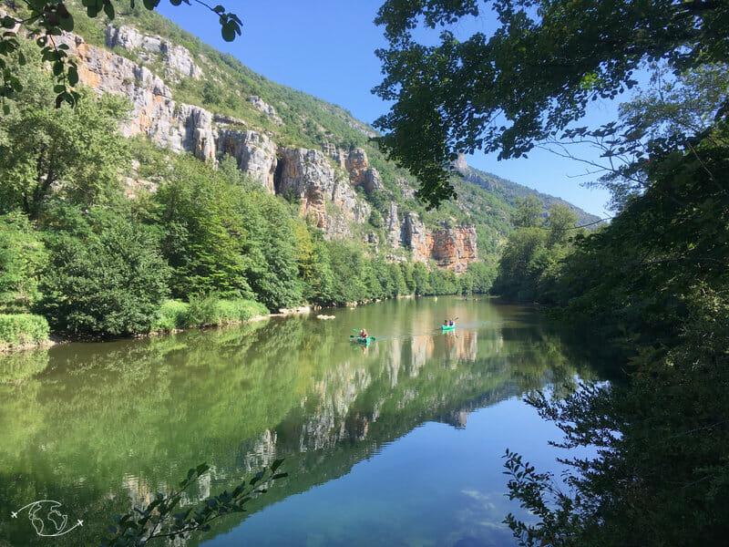 Réflets dans les Gorges du Tarn
