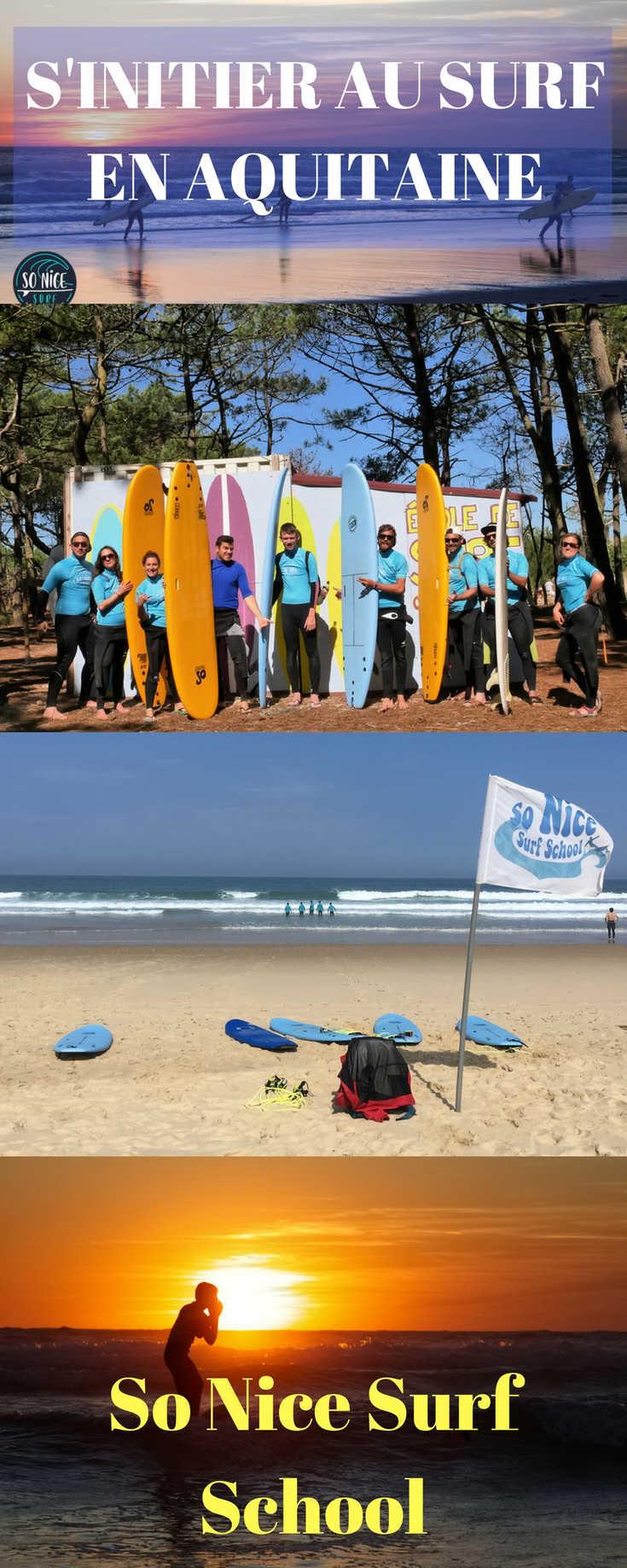 Stage de surf avec So Nice Surf School en Aquitaine : tous les Détails sur cette Initiation, le Surf Camp, mon Expérience complète avec cette Ecole de Surf