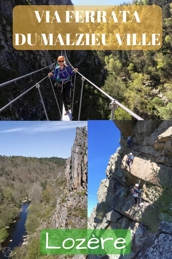 Mon Expérience du Parcours de Via Ferrata du Malzieu-ville en Lozère et des Infos et Liens Utiles sur cette Activité entre Randonnée et Escalade