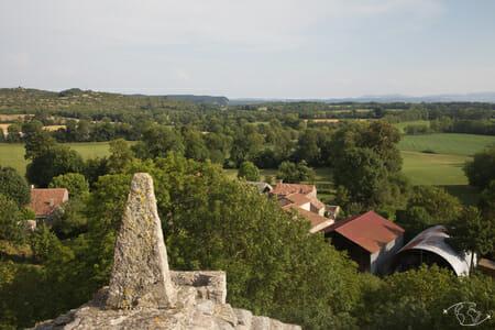 Randonnée Larzac - Sur la tour de Viala pas de Jaux