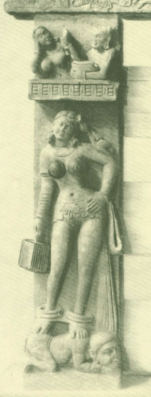 Sclupture from school of Mathura (2nd century)