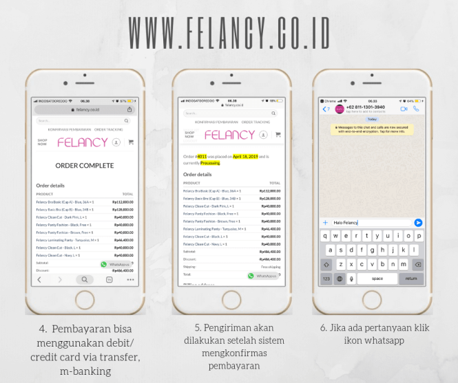Beli Felancy Online