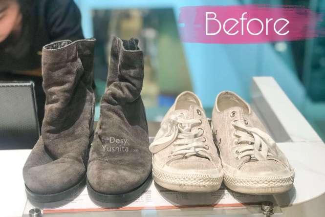 Cara Merawat Sepatu