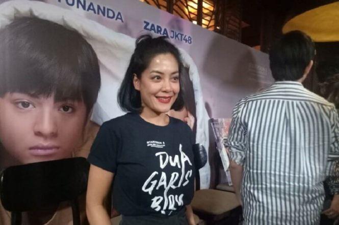 Lulu Tobing, Film dua garis biru