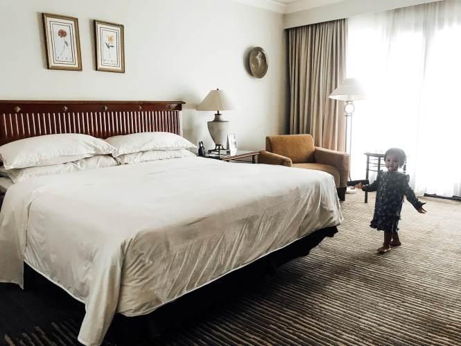 Kasur King Size di Sheraton Hotel Bandar Lampung