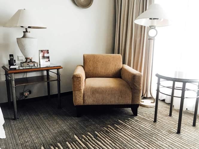 Sofa di Sheraton Hotel Bandar Lampung