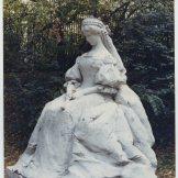 Erzsébet királyné szobra (Ligeti Miklós -1907 szept. 29)