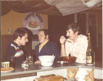 Left to Right: Billy Krieger, Dennis Hebler, Klemme Lemcke