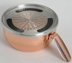 「純銅手造りおろし器取っ手付
