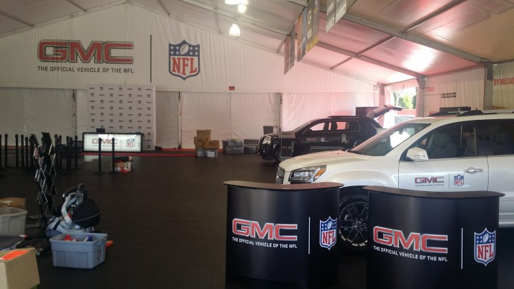 GMC Detailing For NFL Event