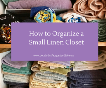 How to Organize a Small Linen Closet on a Budget