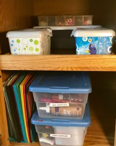 Organize Kids' Craft Supplies