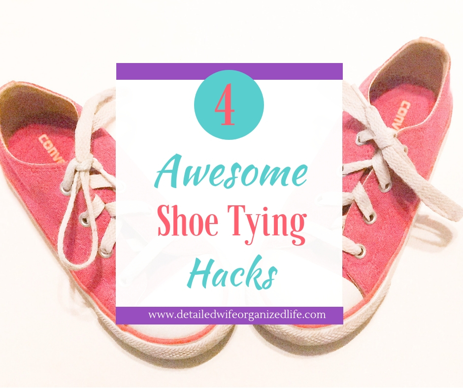 4 Awesome Shoe Tying Hacks