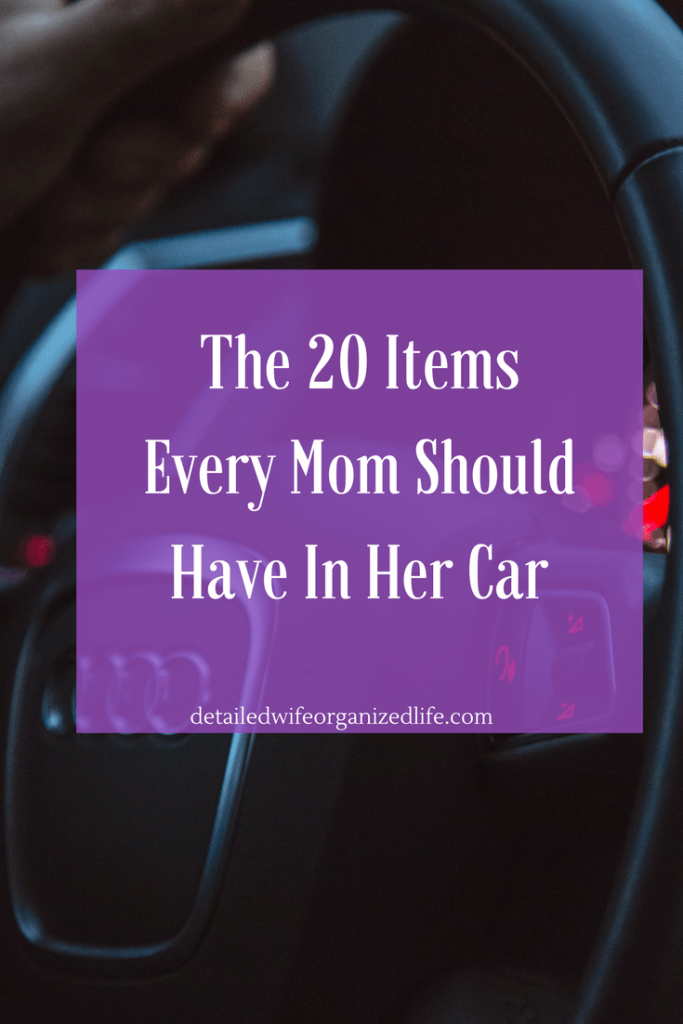 The 20 Items Every Mom Should Have In Her Car
