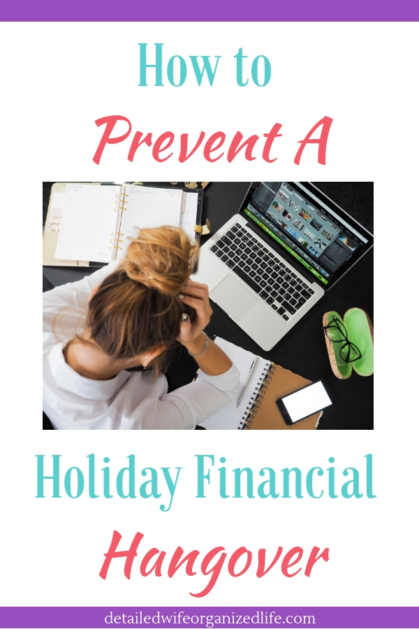 How to Prevent a Holiday Financial Hangover