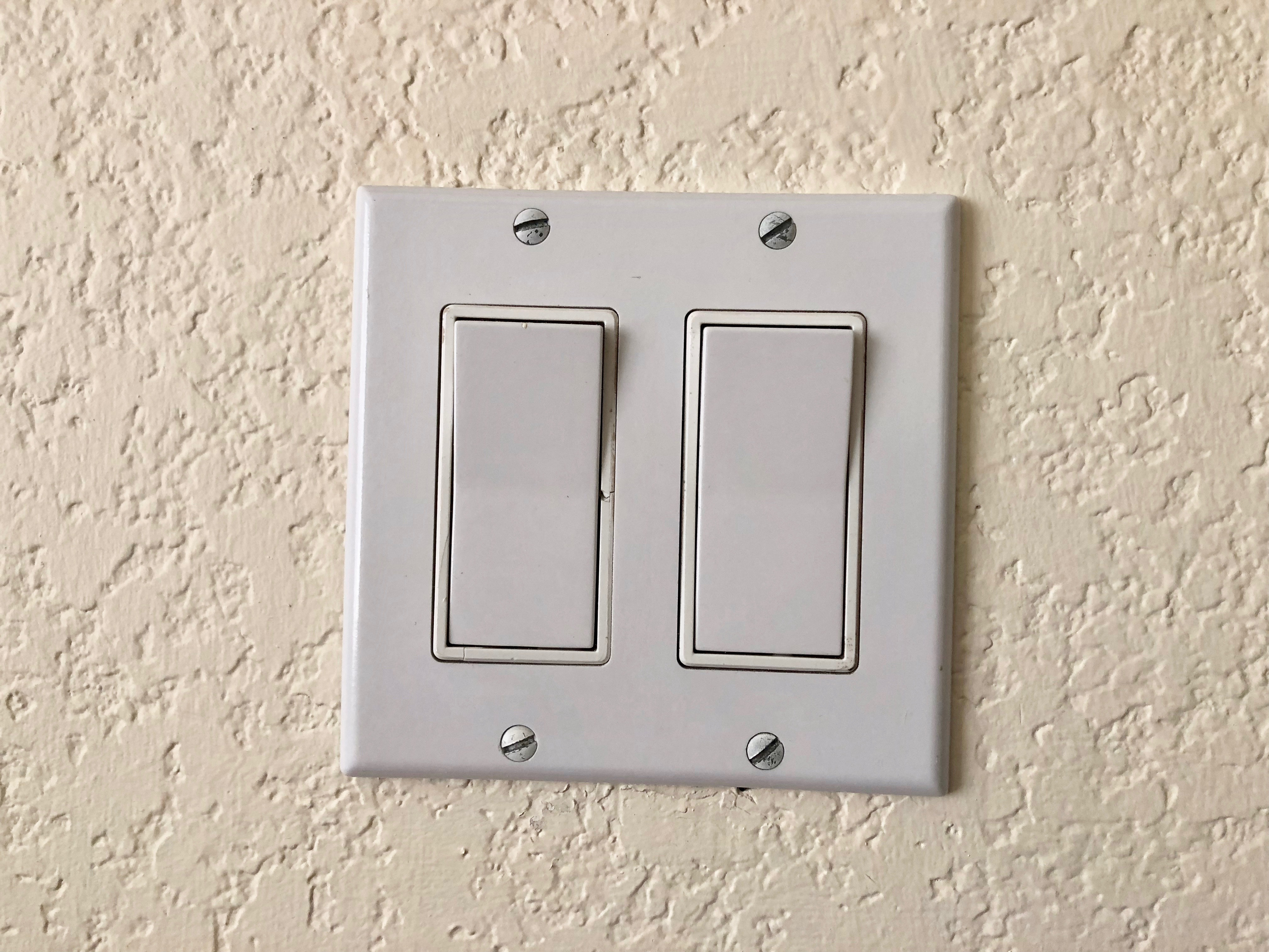Crooked Light Switch