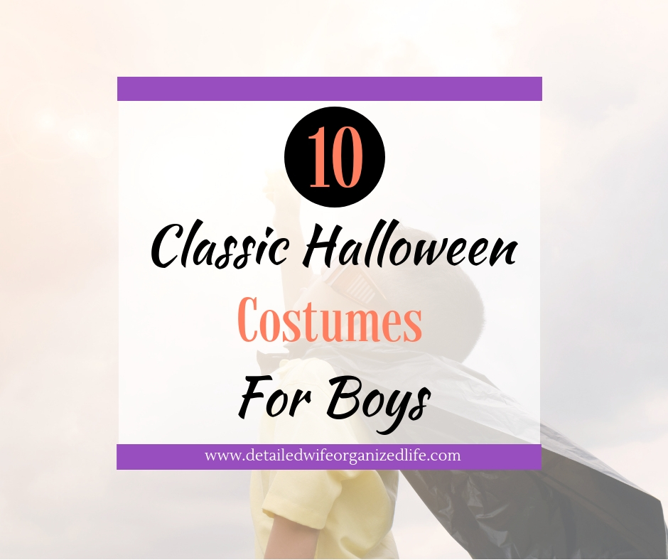10 Classic Halloween Costumes for Boys