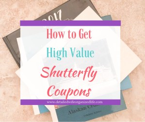 How to Get High Value Shutterfly Coupons
