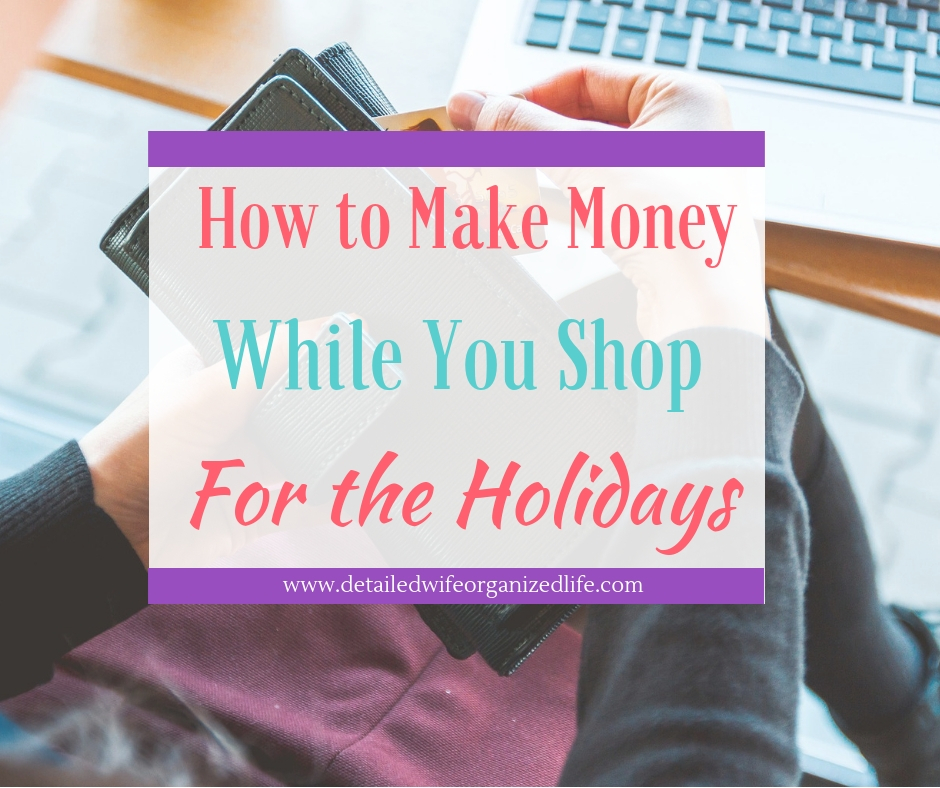 How To Make While You Shop For the Holidays