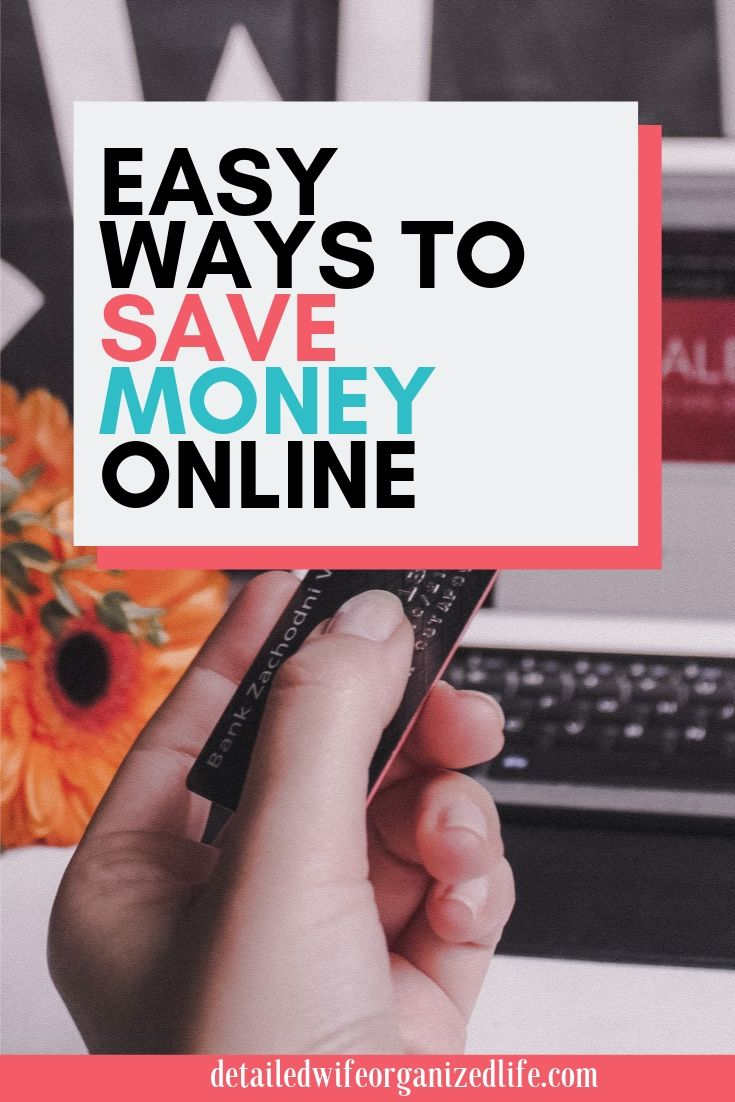Easy Ways To Save Money Online