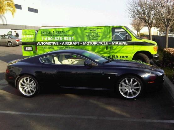 San Diego Auto Detailing on Aston Martin
