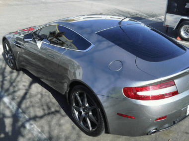 Mobile Car Detail in San Diego on Aston Martin