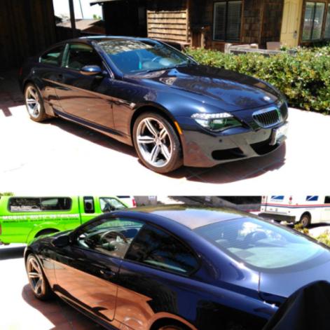 San Diego Car Detail BMW