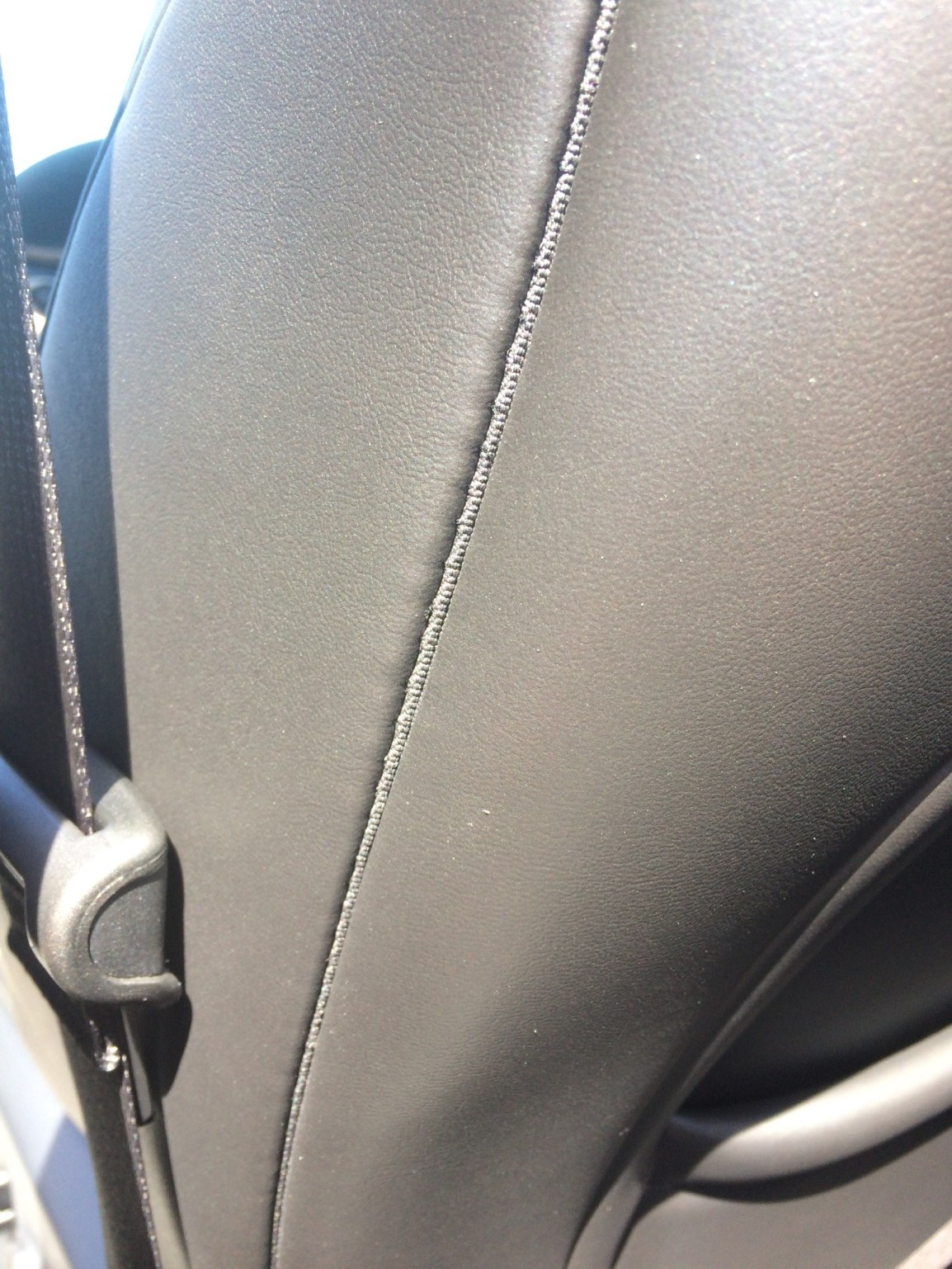 Mobile Leather Repair on vehicle