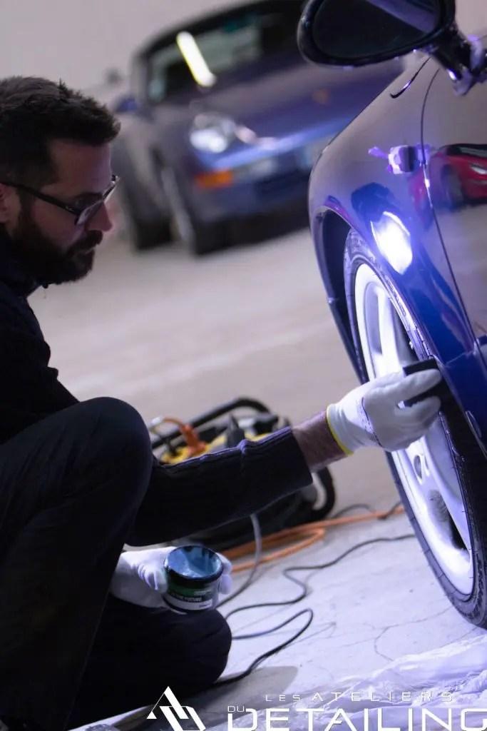 valet pro brillant pneu